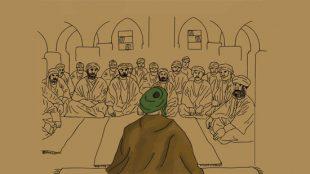 TasvirShakhes-Kashani-Nahj42-03-ellate-mokhalefate-ahle-hadis-ba-abou-hanife-Thaqalain_IR