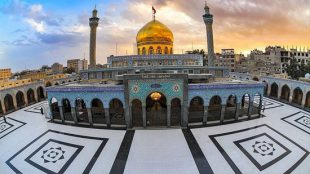 TasvirShakhes-Ostad RajabiDavani-16-Makane Marghade Motahare Hazrate Zeynab(AS)-Thaqalain_IR